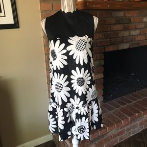 Victoria Beckham for Target Black Daisy Dress S